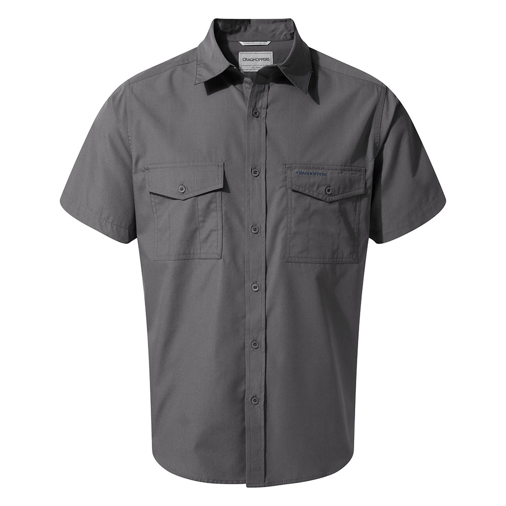 Craghoppers Mens Kiwi Short Sleeved Shirt