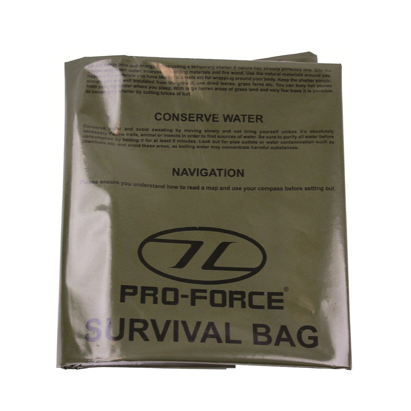 Highlander Survival Bivi Bag - Olive