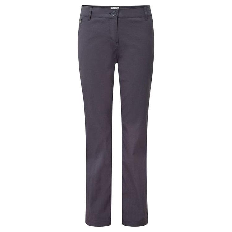 Craghoppers Womens Kiwi Pro Stretch Trousers - Graphite - 20l
