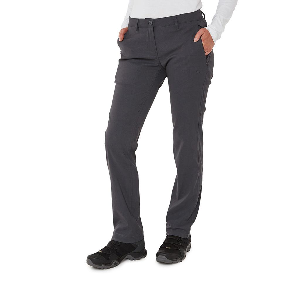 Craghoppers Mens Kiwi Short Sleeved Shirt - Dark Grey - S