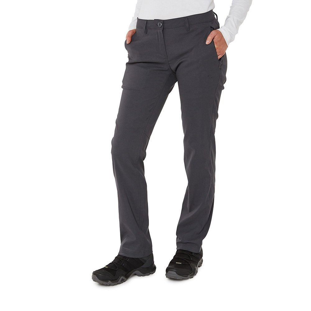 Craghoppers Womens Kiwi Pro Ii Trousers-graphite-8-l