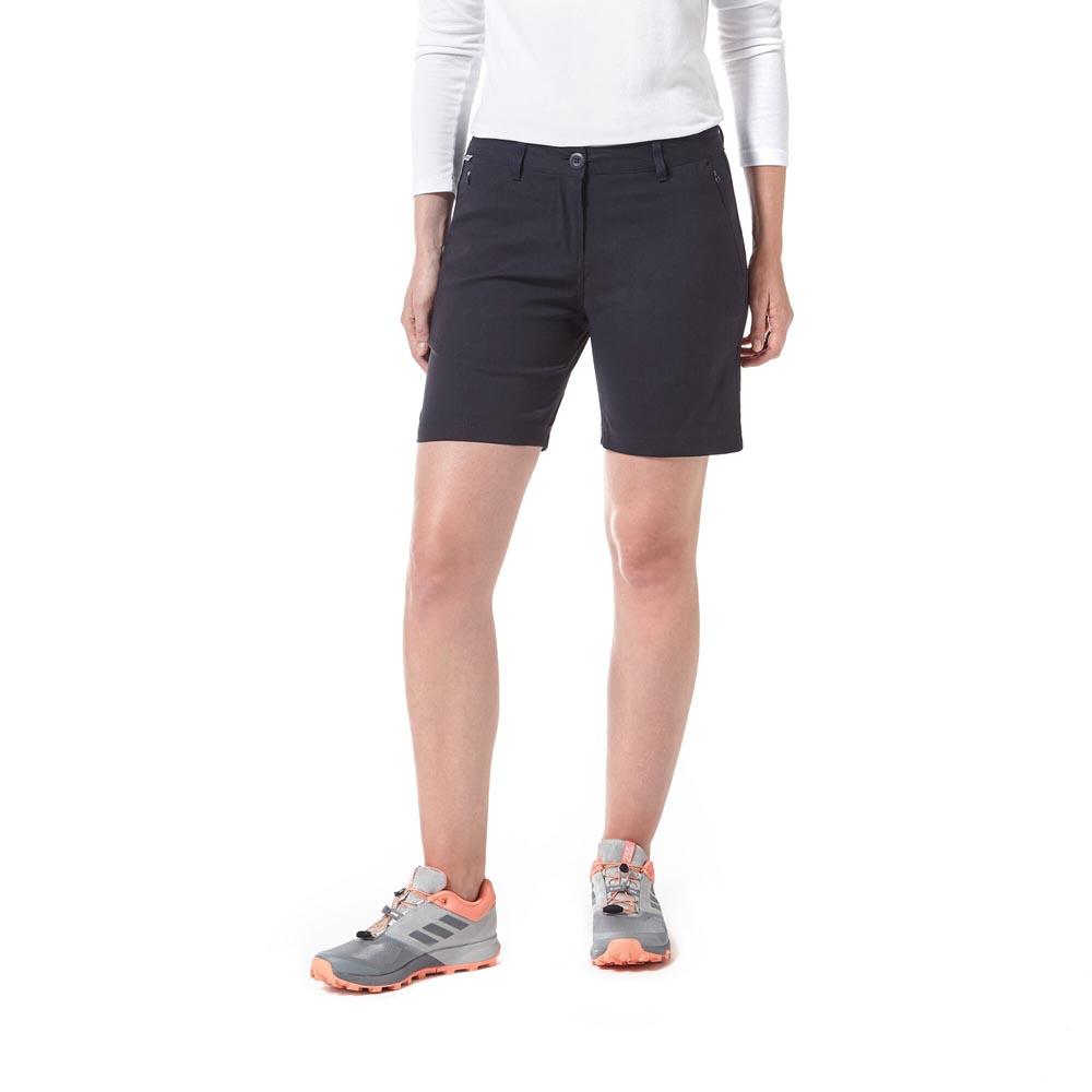 Craghoppers Mens Kiwi Short Sleeved Shirt - Pebble - L