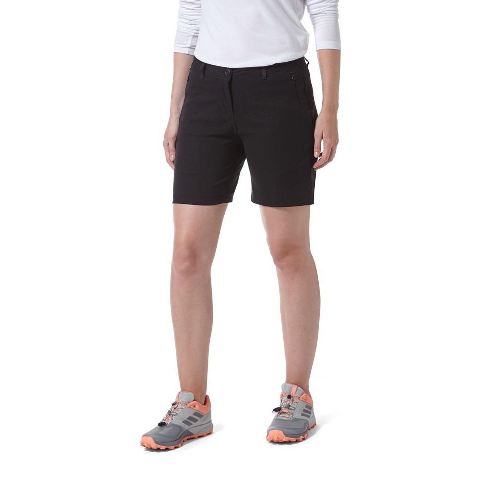 Craghoppers Womens Kiwi Pro Iii Shorts - Black - 10