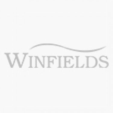 Cotswold Burghley Women's Wellington - Raindrops Print - Sole View