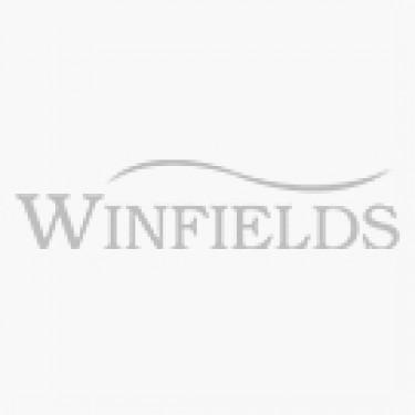 Cotswold Burghley Women's Wellington - Raindrops Print - Front & Sole View