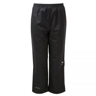 Kids Padded Chandler Breathable Waterproof Overtrousers Black RRP £40