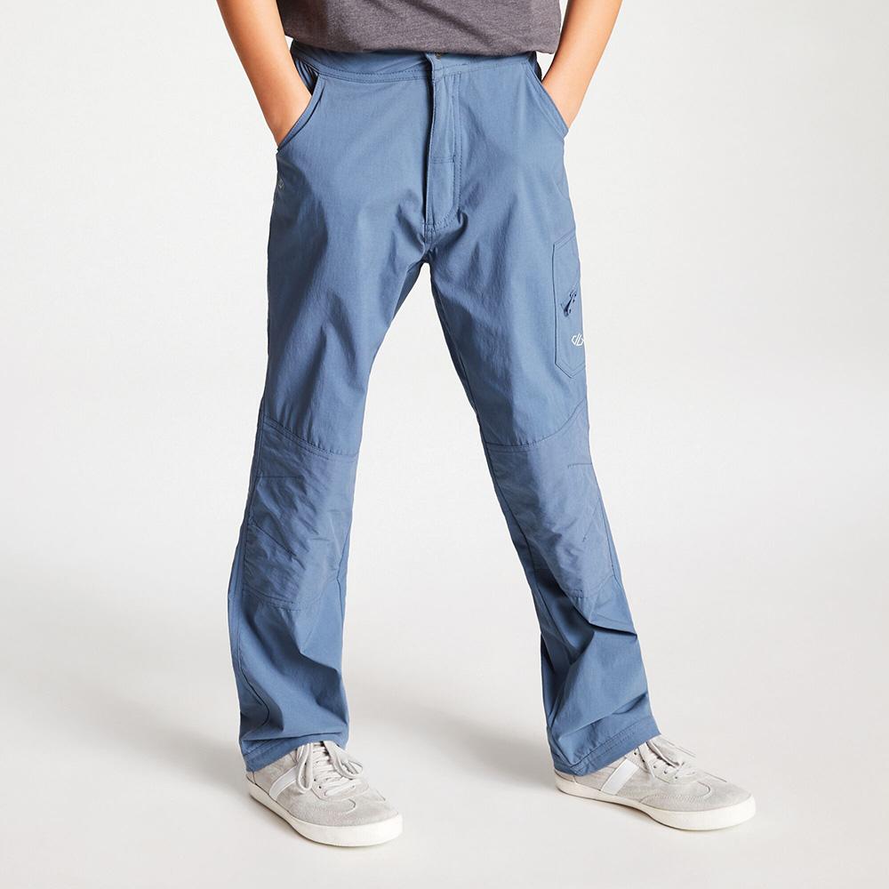 Dare 2b Kids Reprise Lightweight Walking Trousers - Meteor Grey - 3-4 Years