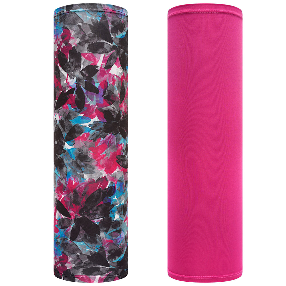 Dare 2b Adults Sports Multi-tube Scarf Mask (2 Pack)-active Pink / Botanical Print