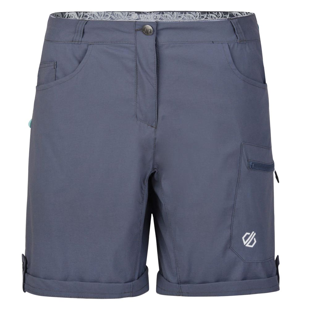 Dare 2b Womens Melodic II Shorts - Quarry Grey