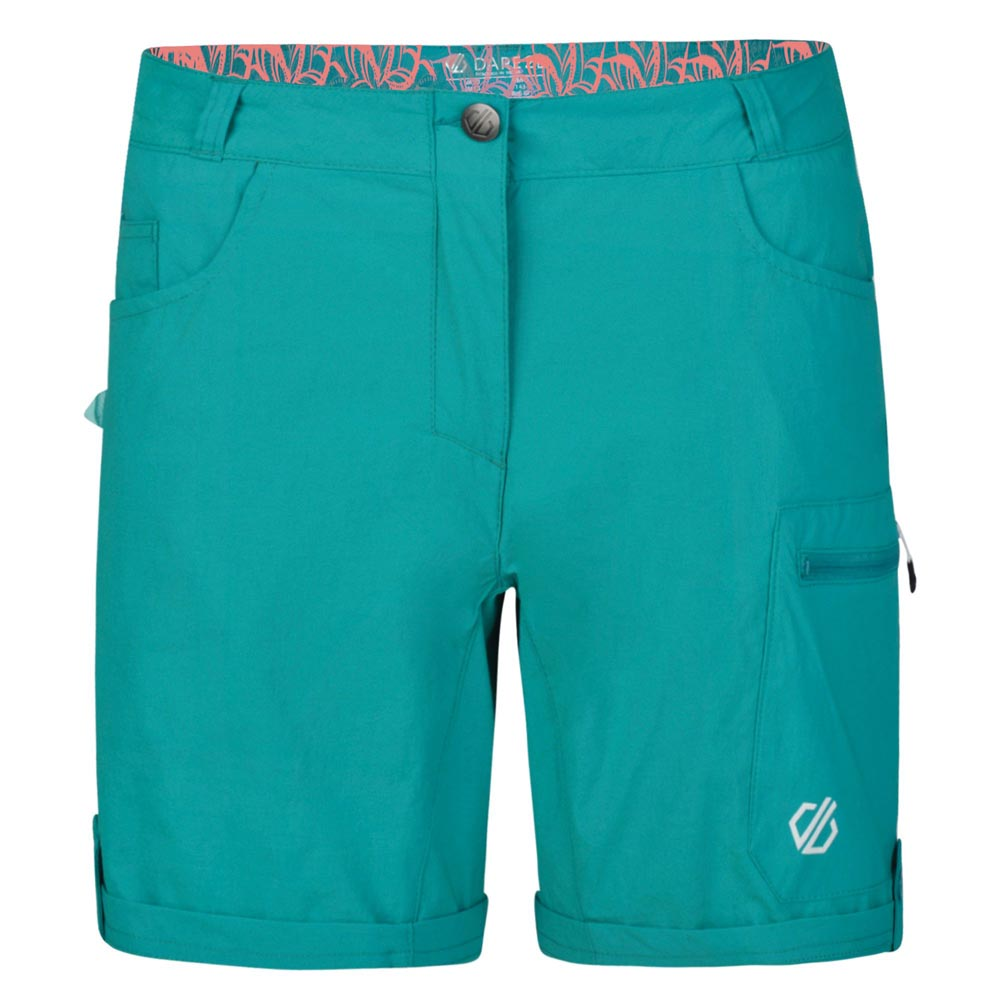 Dare 2b Womens Melodic II Shorts - Caribbean Green