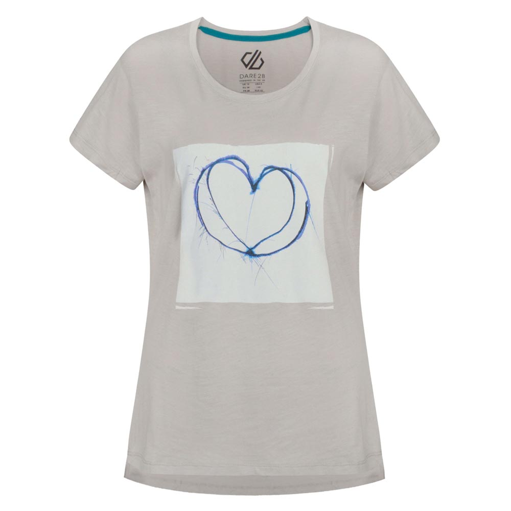 Dare 2b Womens Emote T-Shirt - Argent Grey