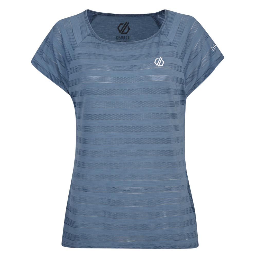 Dare 2b Womens Efficiency Ventilated T-Shirt - Meteor Grey