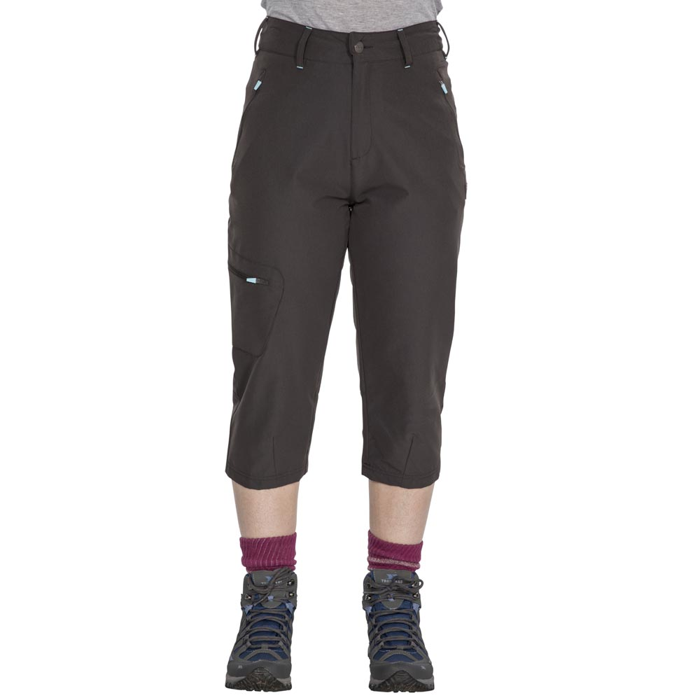 Trespass Womens Recognise Travel Shorts-Peat-S