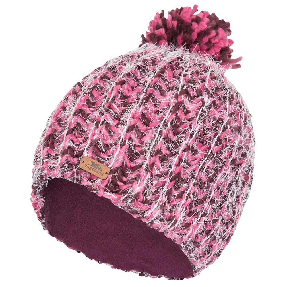 Trespass Womens Mullida Knitted Beanie-fig