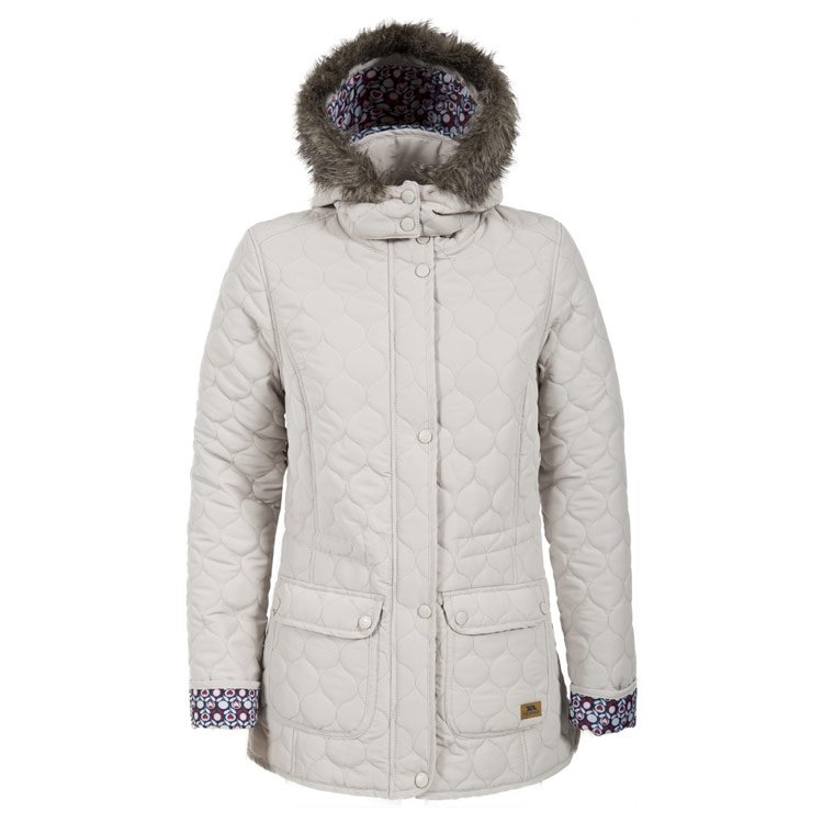 Trespass Womens Jenna Parka - Almond - 12