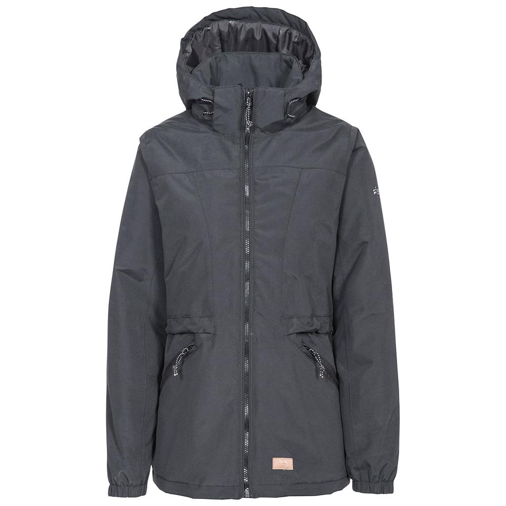 Trespass Womens Liberate Waterproof Jacket - Black - 12