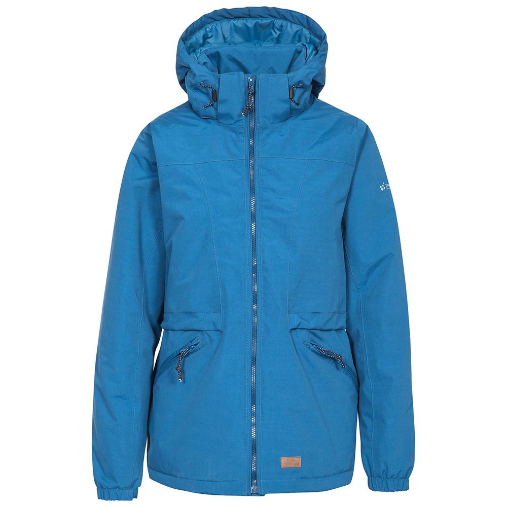 Trespass Womens Liberate Waterproof Jacket - Indigo - 10