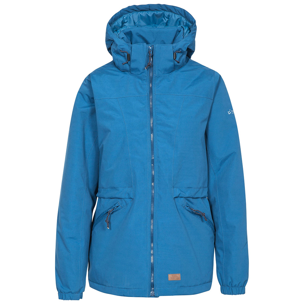 Trespass Womens Liberate Waterproof Jacket - Indigo - 12