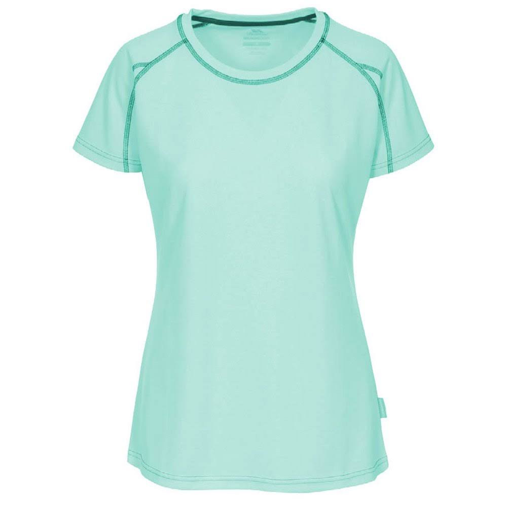 Trespass Womens Mamo Active T-Shirt-Blue-16