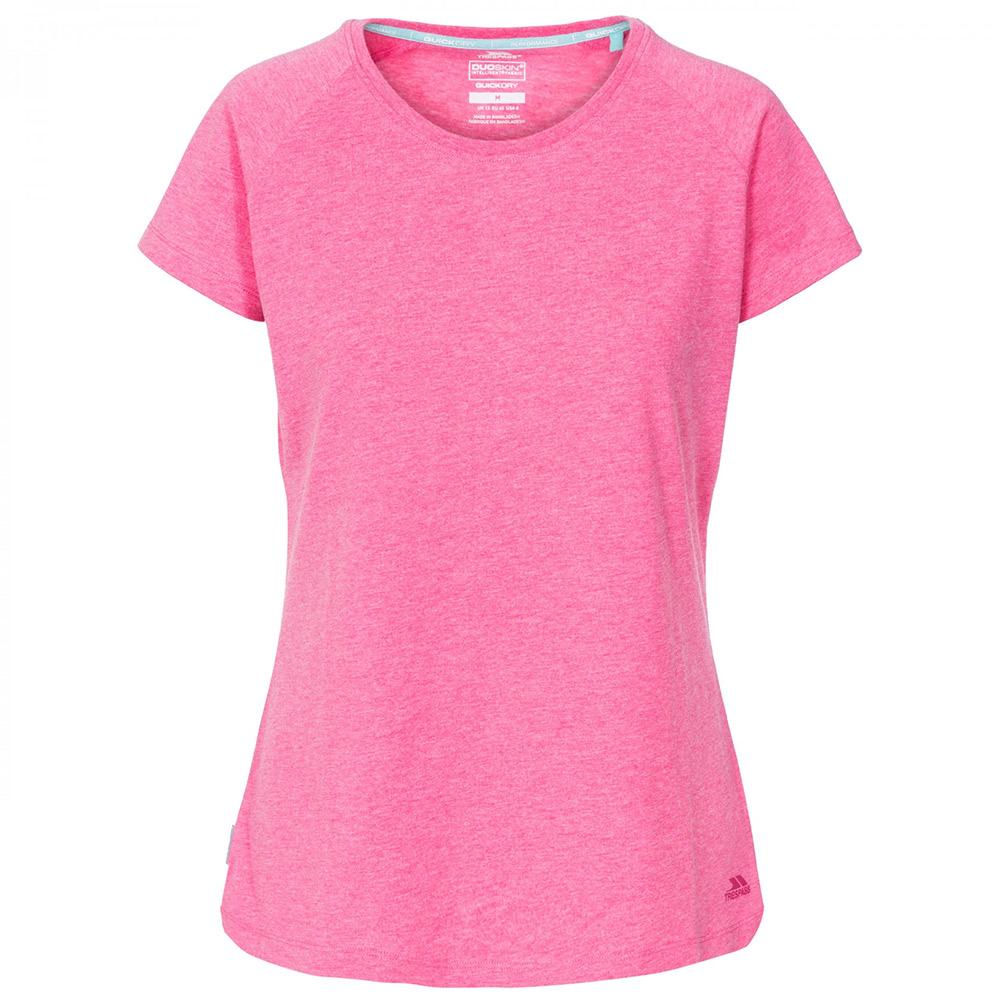 Trespass Womens Benita Casual T-shirt-pink-18