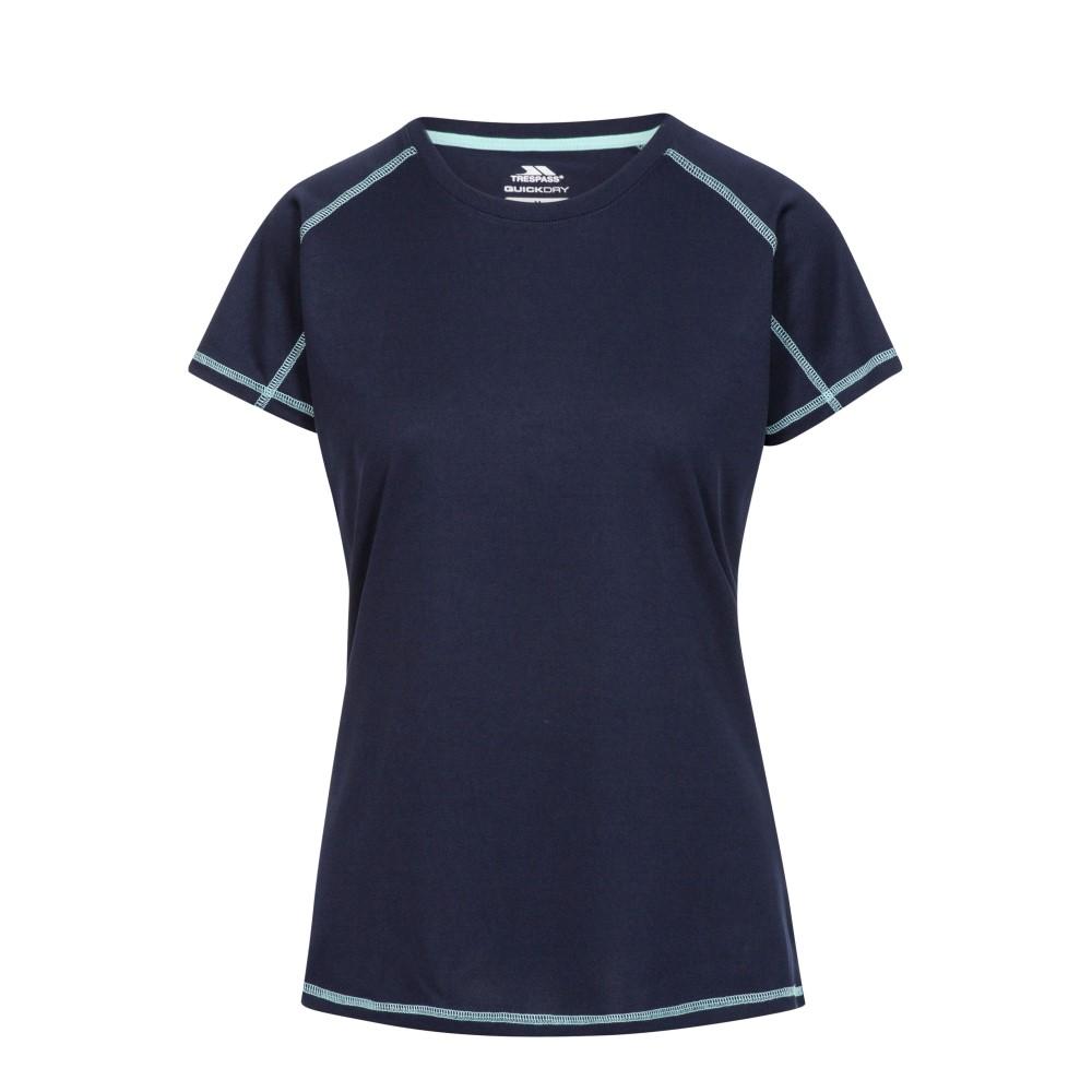 Trespass Womens Viktoria T-shirt-navy-14