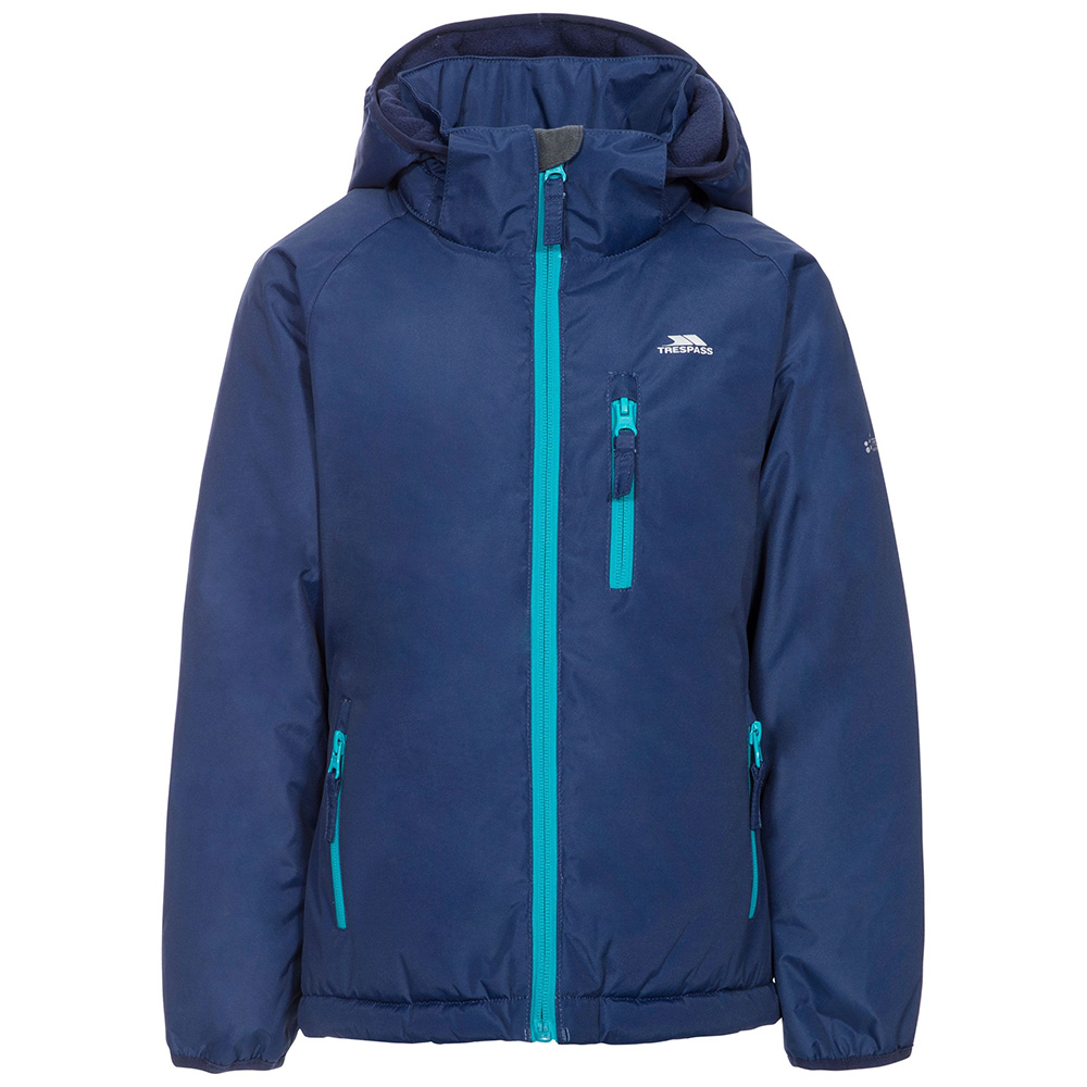 Trespass Kids Shasta Waterproof Insulated Jacket-twilight-11-12 Years