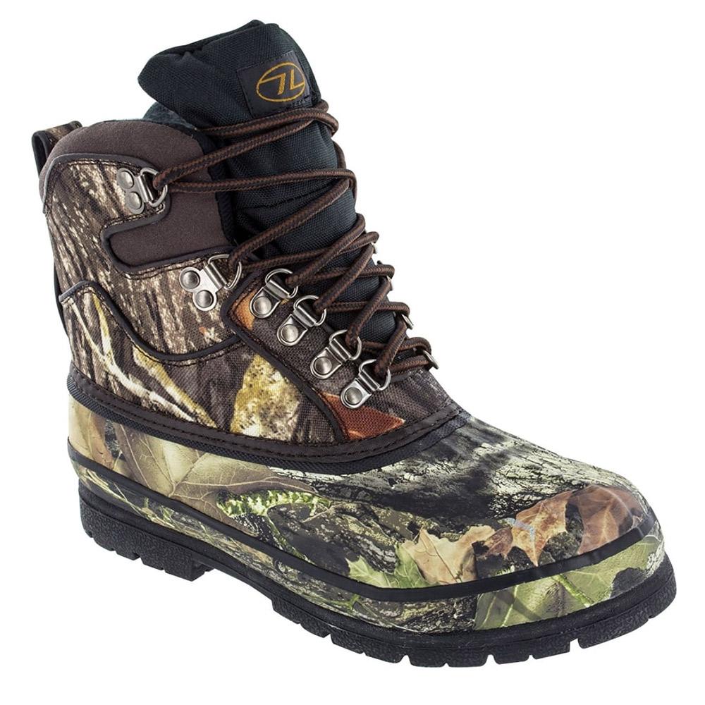 Highlander Mens Glenmor Waterproof Boots - Tree Deep - 7