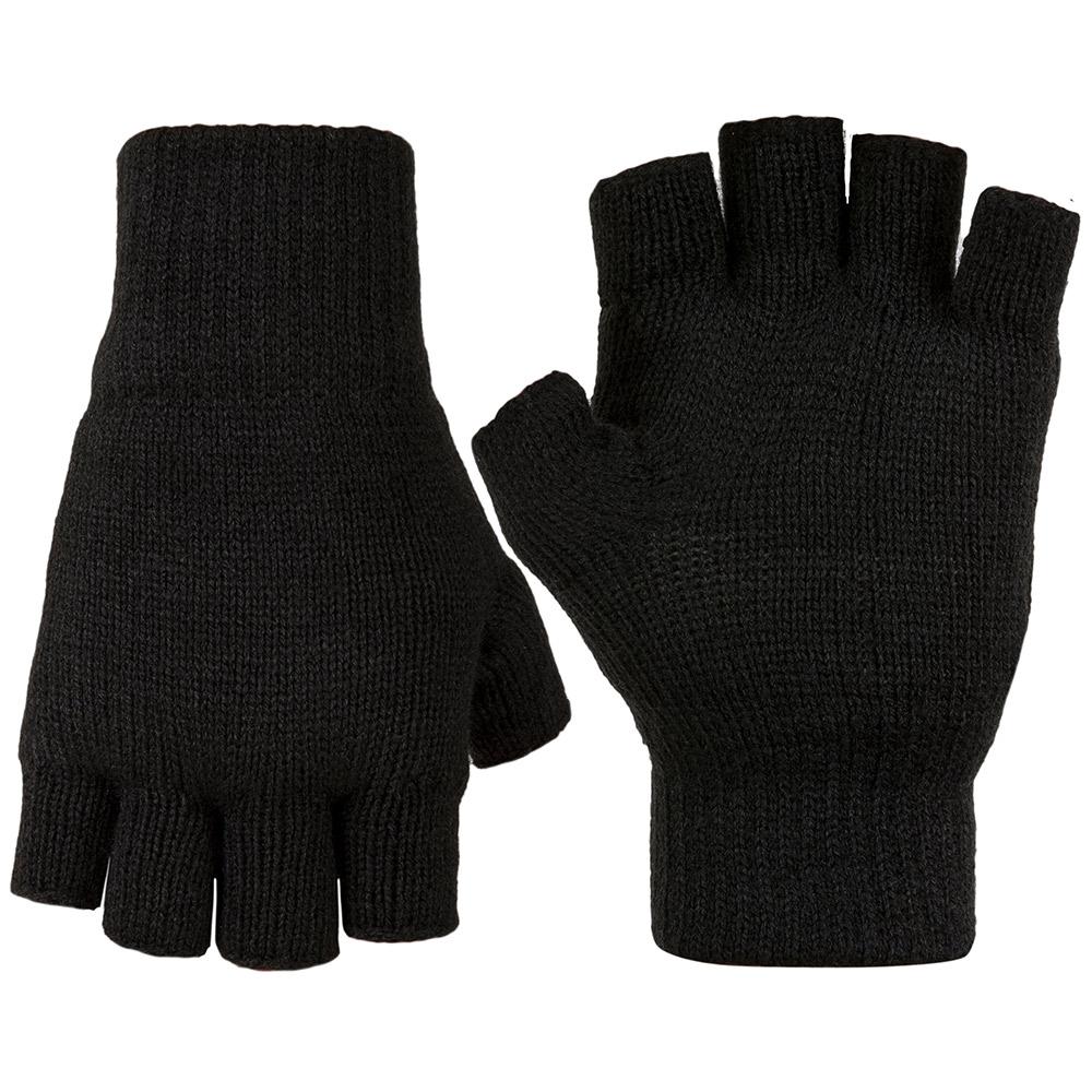 Highlander Stayner Fingerless Gloves - Black - L
