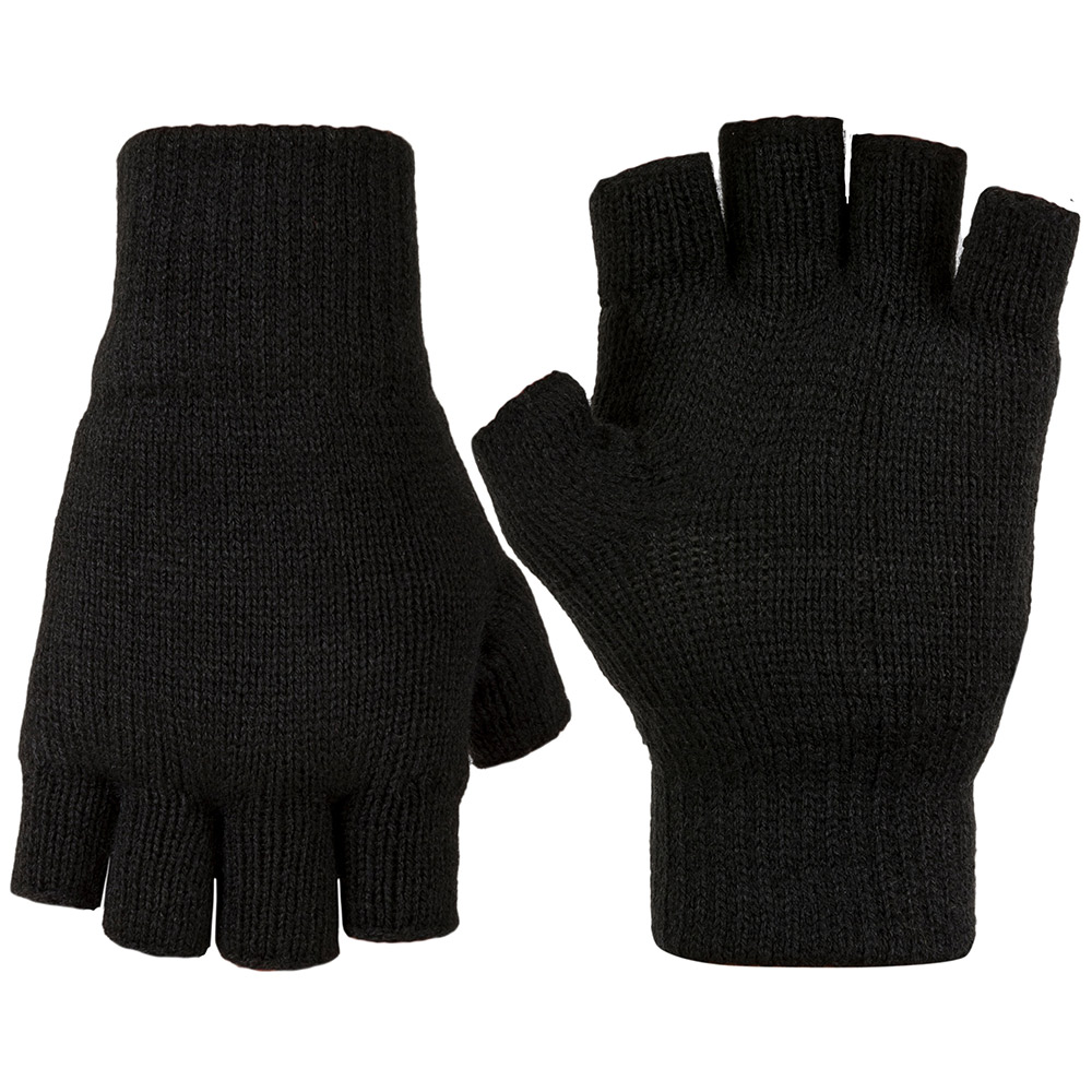 Highlander Stayner Fingerless Gloves - Black - Xl