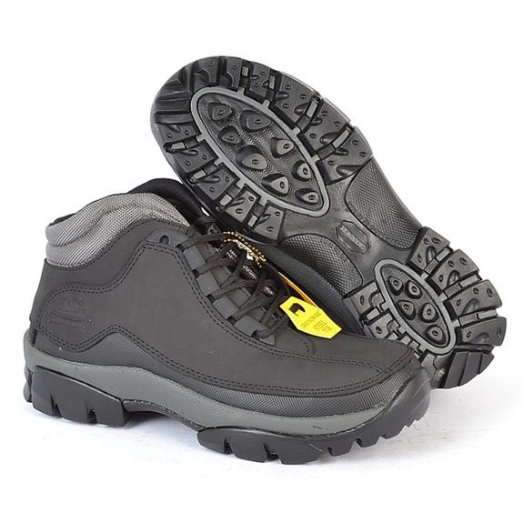 Groundwork Womens Gr386 Lace Up Safety Boots - Black - 6