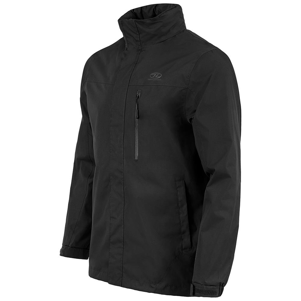 Highlander Mens Kerrera Waterproof Jacket-black-m