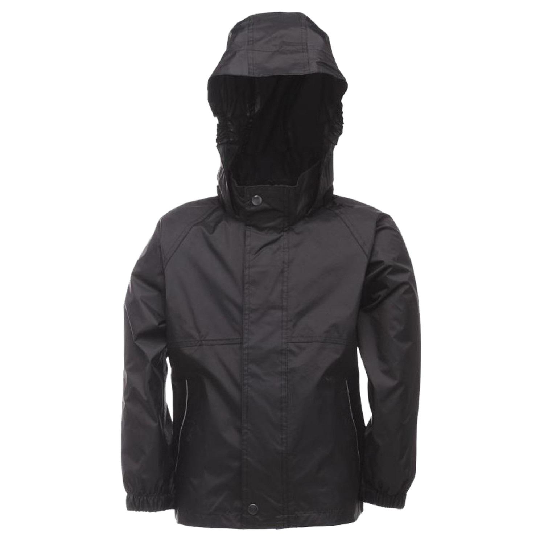 Regatta Kids Packaway Jacket - Black - 2/3