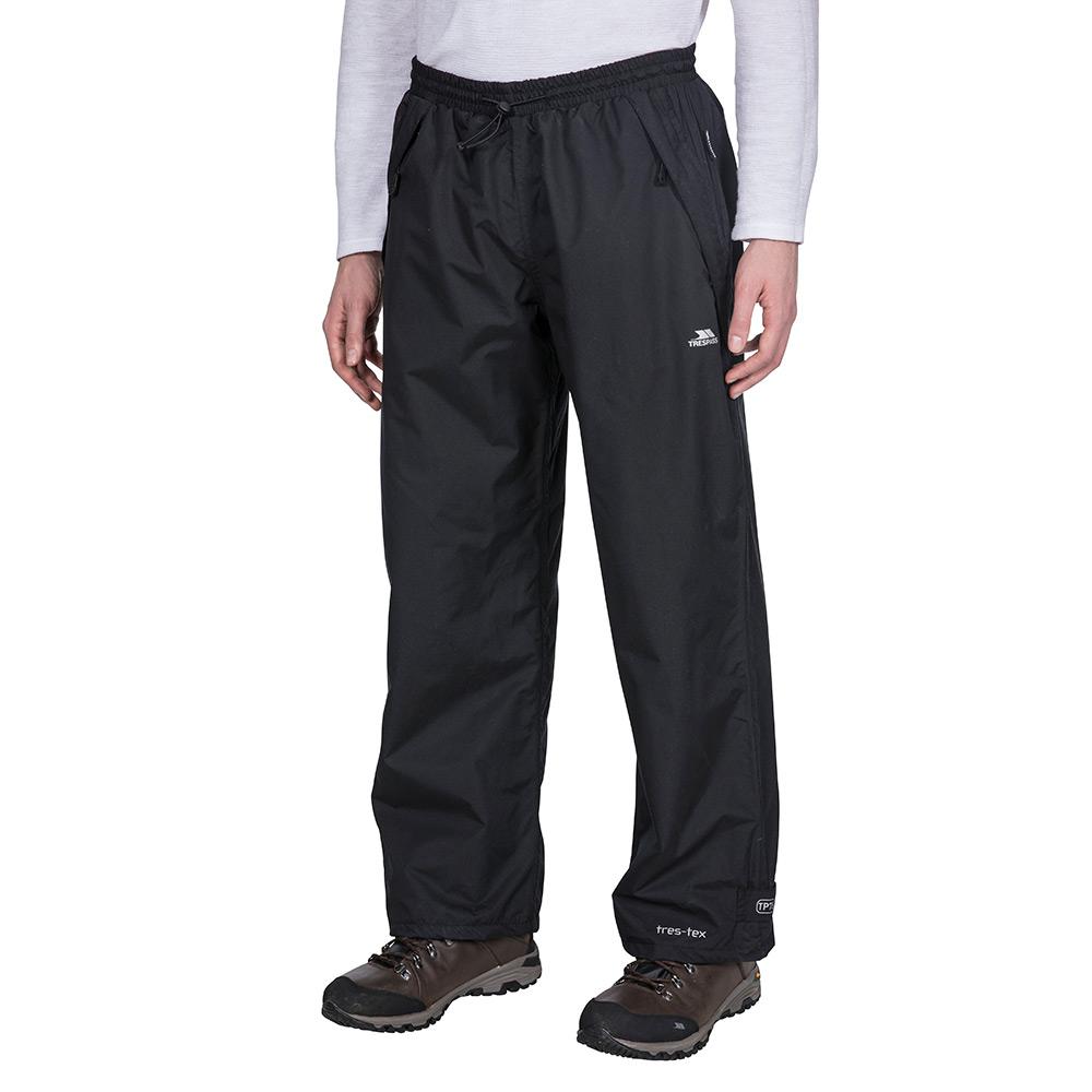 Trespass Mens Toliland Waterproof Trousers - Black - L