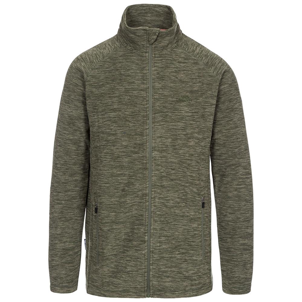 Trespass Mens Veryan Fleece Jacket-basil-m