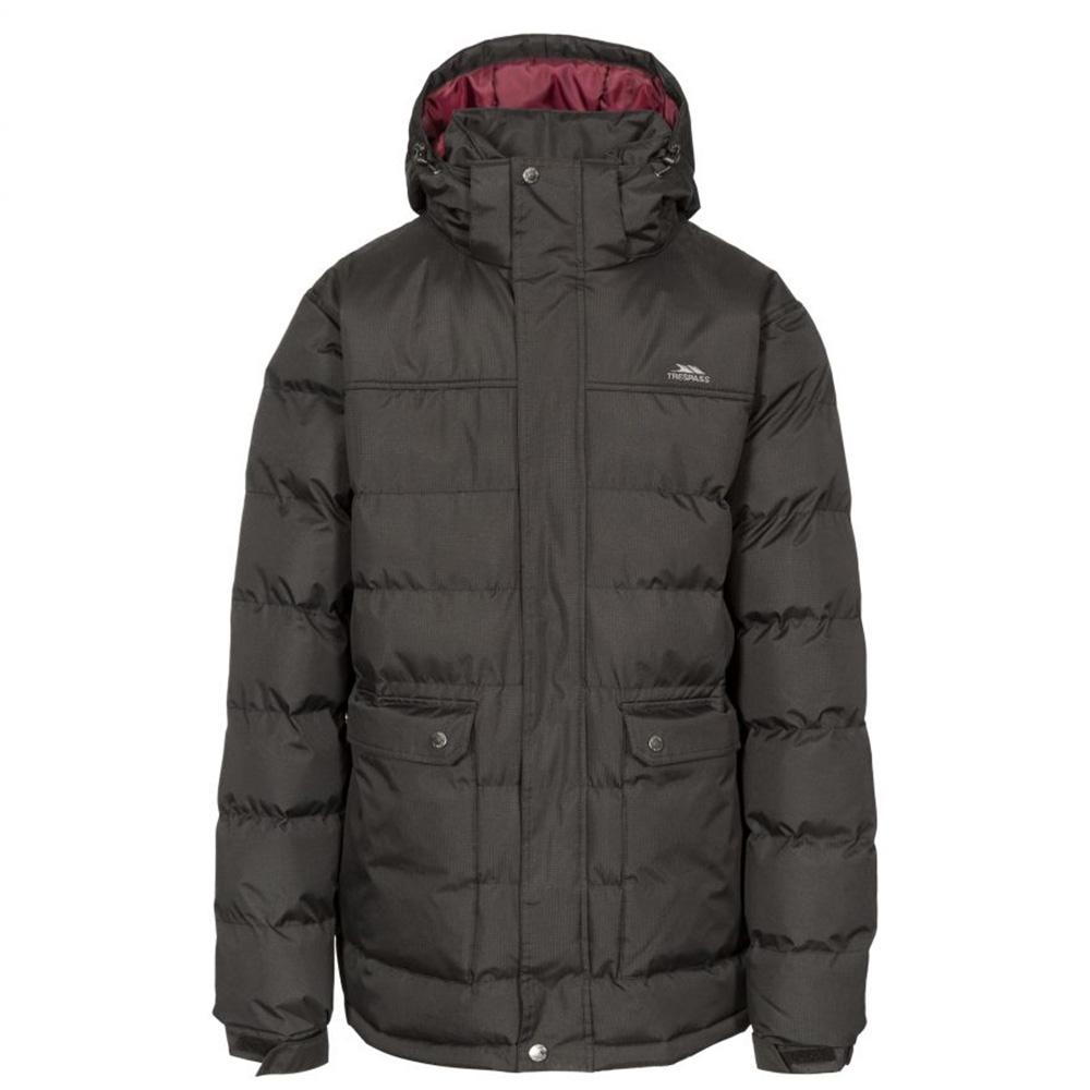 Trespass Mens Specter Waterproof Jacket-black-l