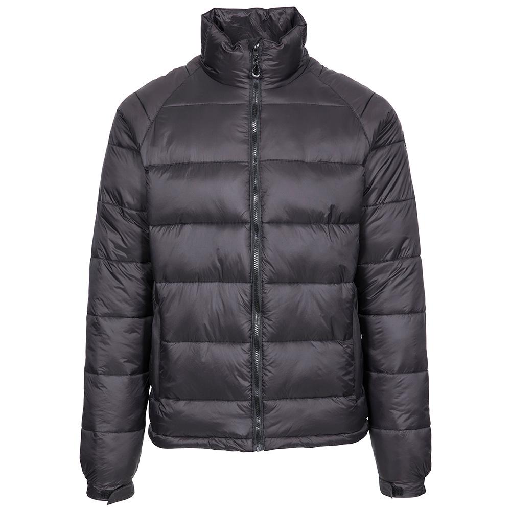 Trespass Mens Yattendon Insulated Jacket-black-s