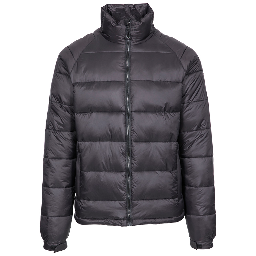 Trespass Mens Yattendon Insulated Jacket-black-m