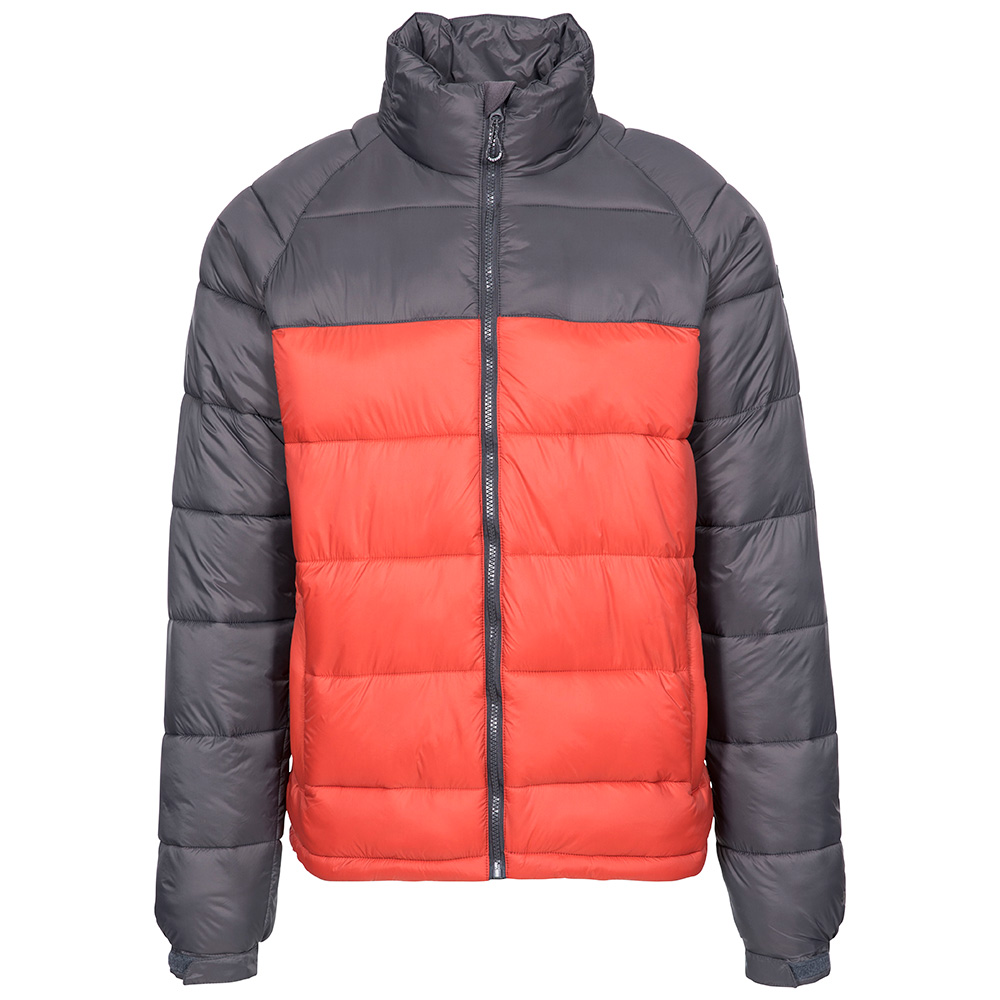 Trespass Mens Yattendon Insulated Jacket-spice-m