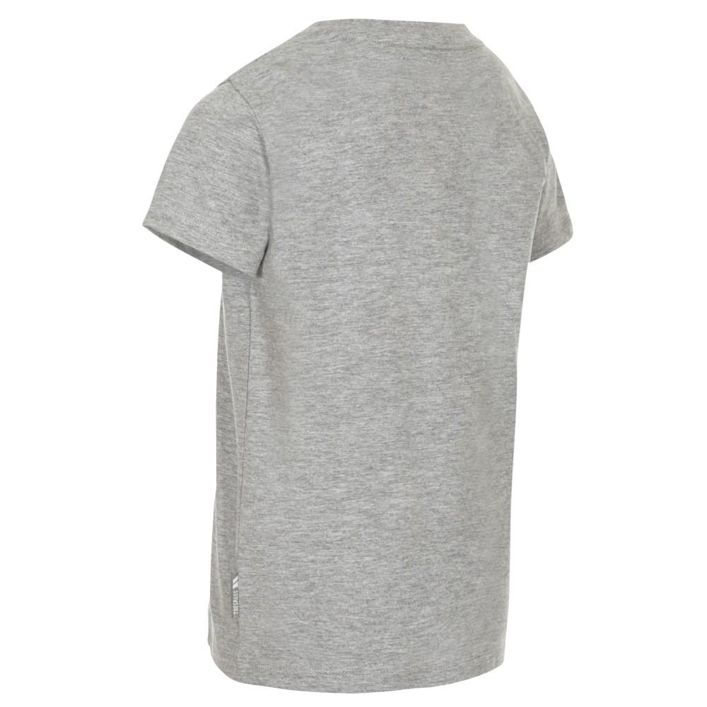 Trespass Kids Undaunted T-shirt-grey Marl-11-12 Years