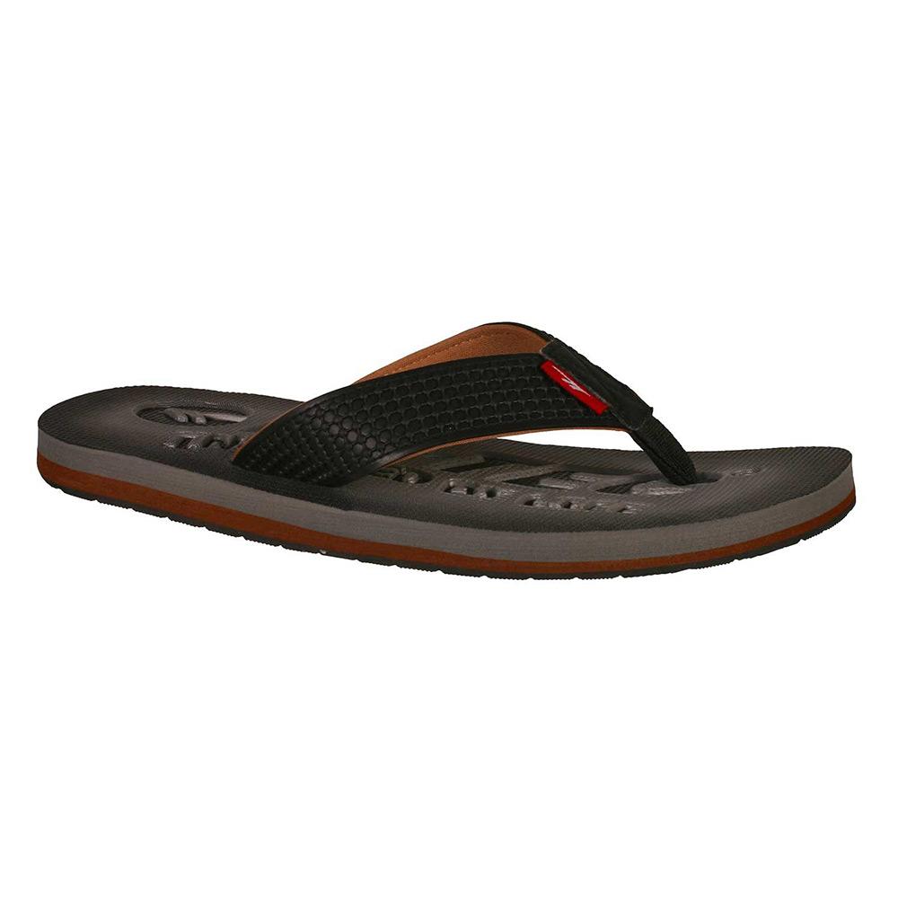 Hi-tec Mens Shadow Thong Flip Flops-brown-7
