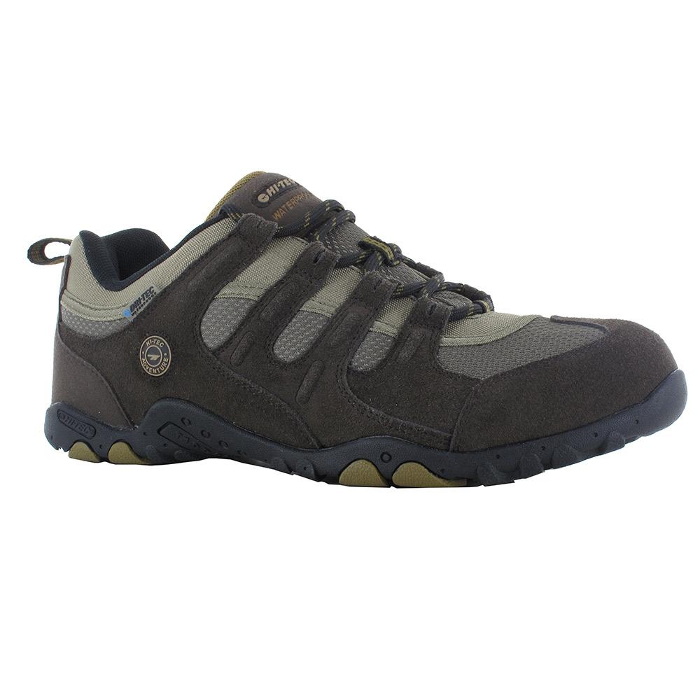 Hi-tec Mens Stroller Waterproof Walking Shoes-dark Chocolate-10