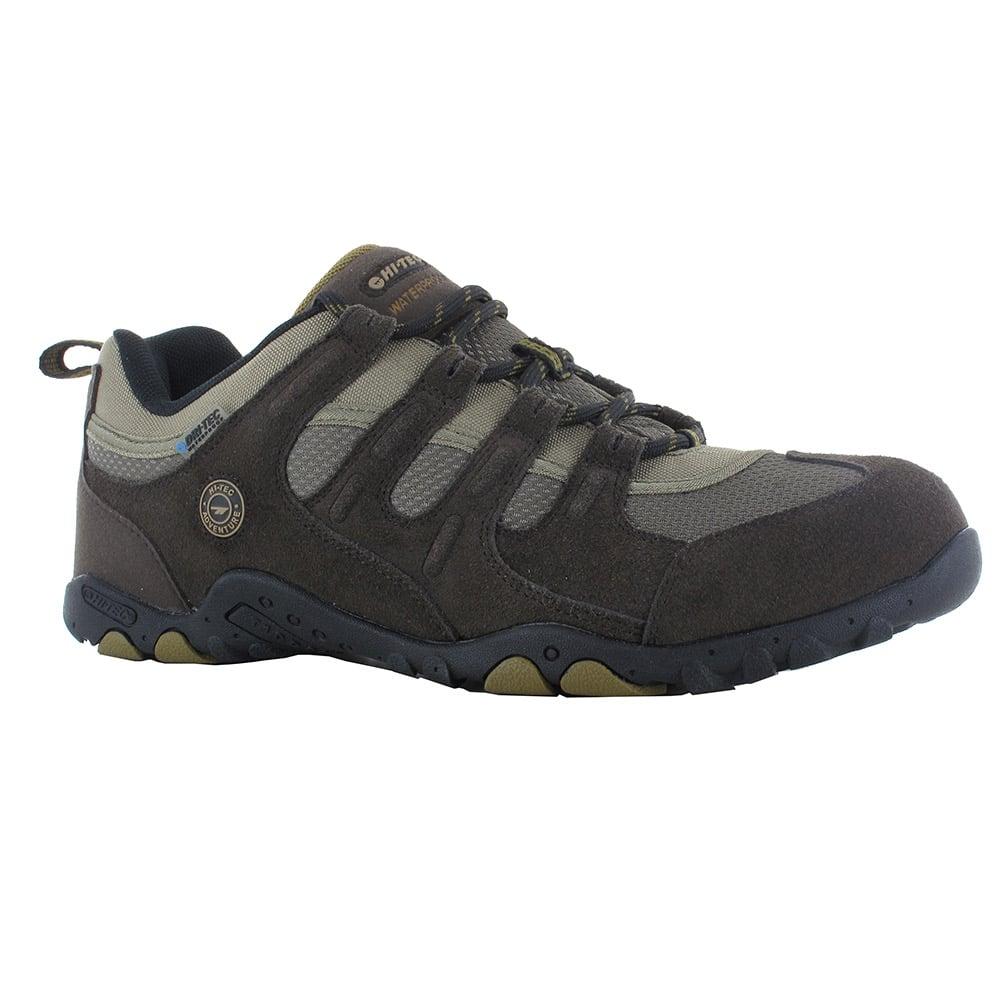 Hi-tec Mens Stroller Waterproof Walking Shoes-dark Chocolate-12
