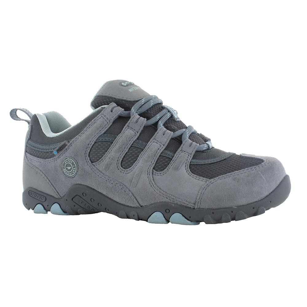 Hi-tec Strollers Ladies Grey Breathable Walking Hiking Shoes, Size: 4 | Hi-Tec