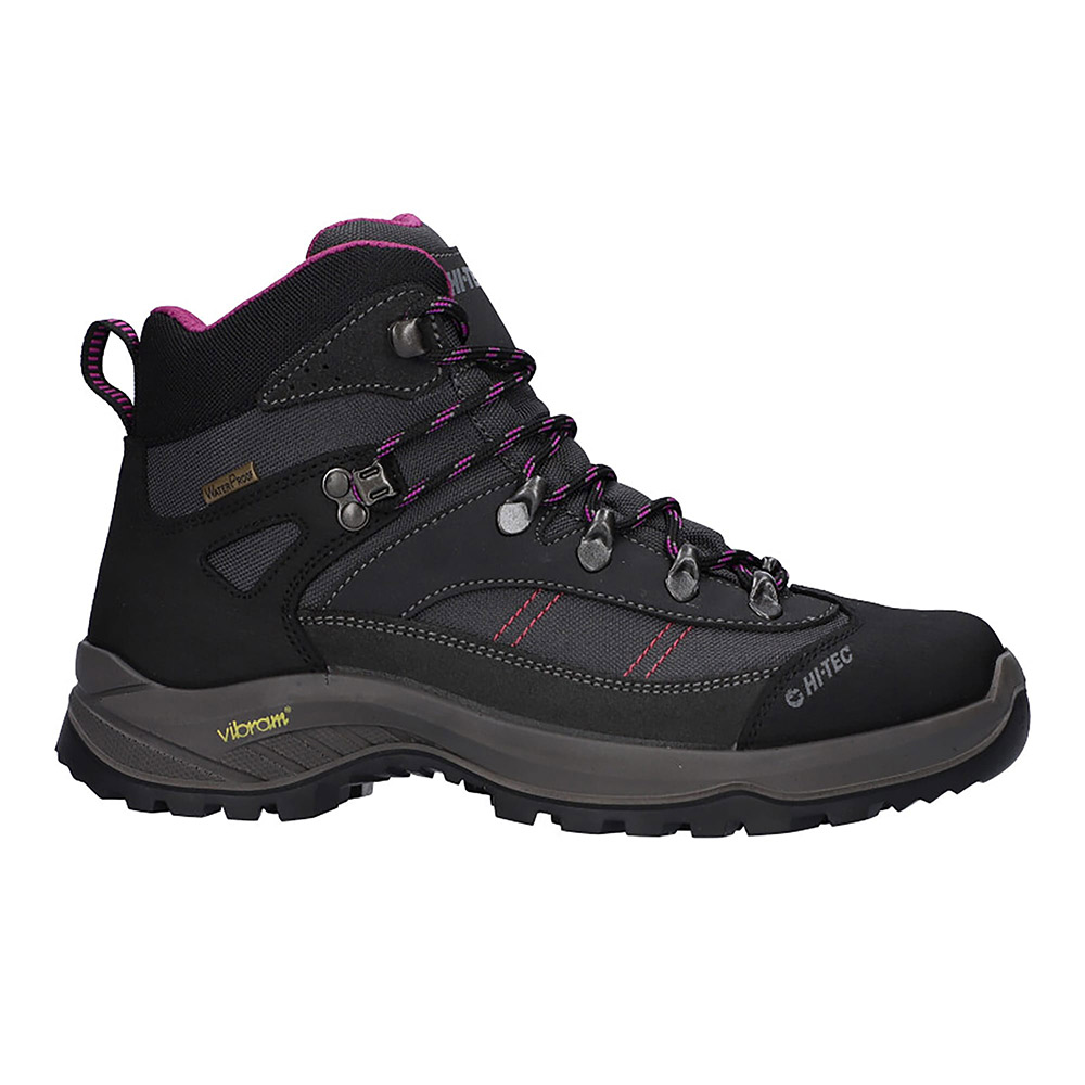 Hi-tec Womens Caha Ii Waterproof Walking Boots-charcoal-8