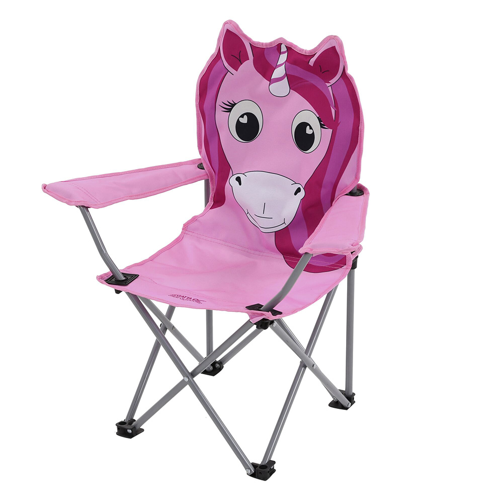 Regatta Kids Animal Folding Camping Chair-unicorn