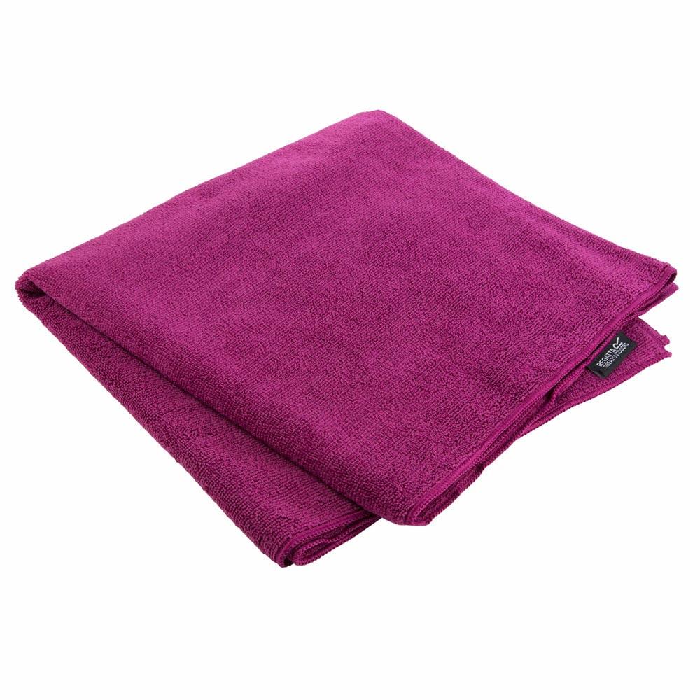 Regatta Compact Travel Towel - Giant-cerise