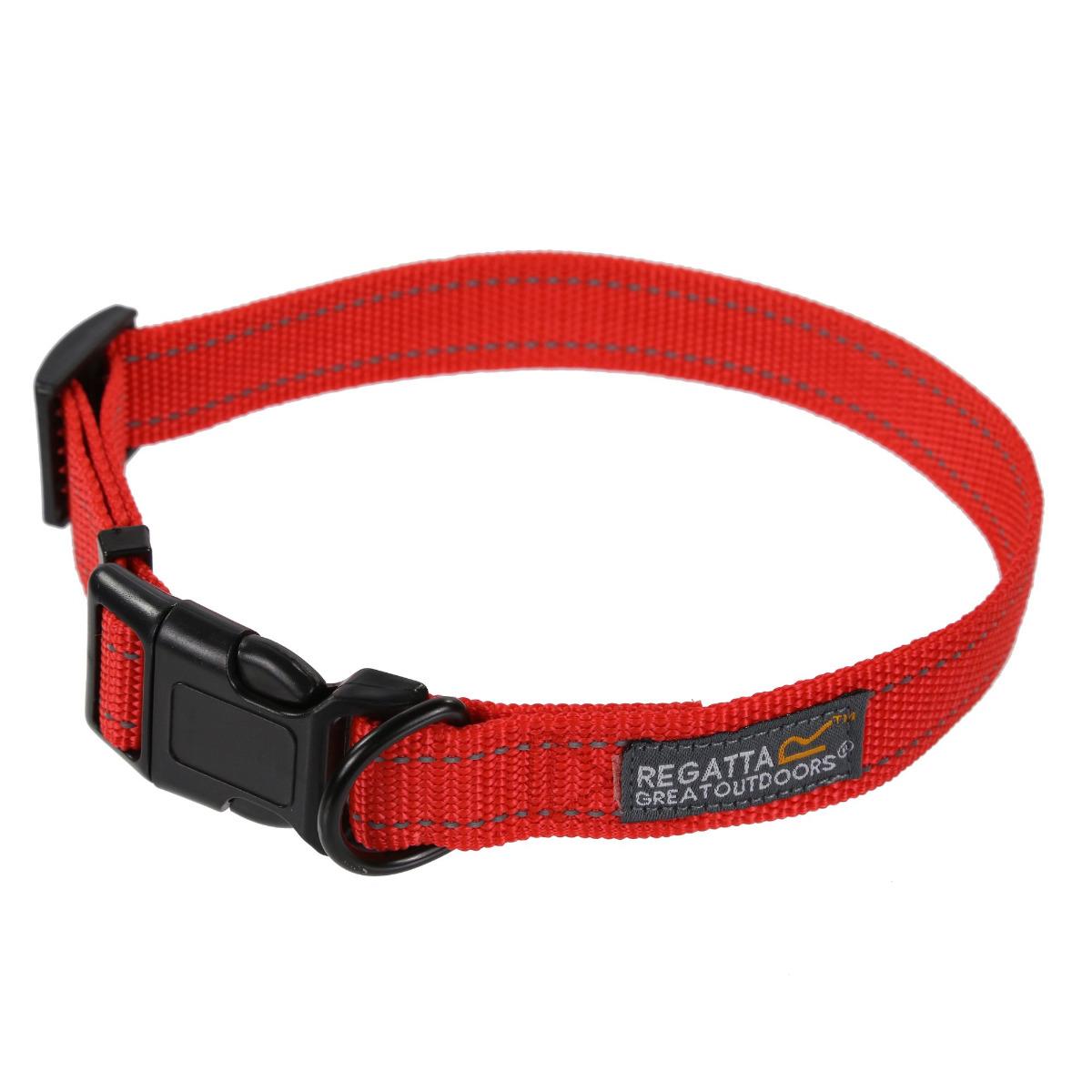 Regatta Comfort Dog Collar - Red - 30 - 55