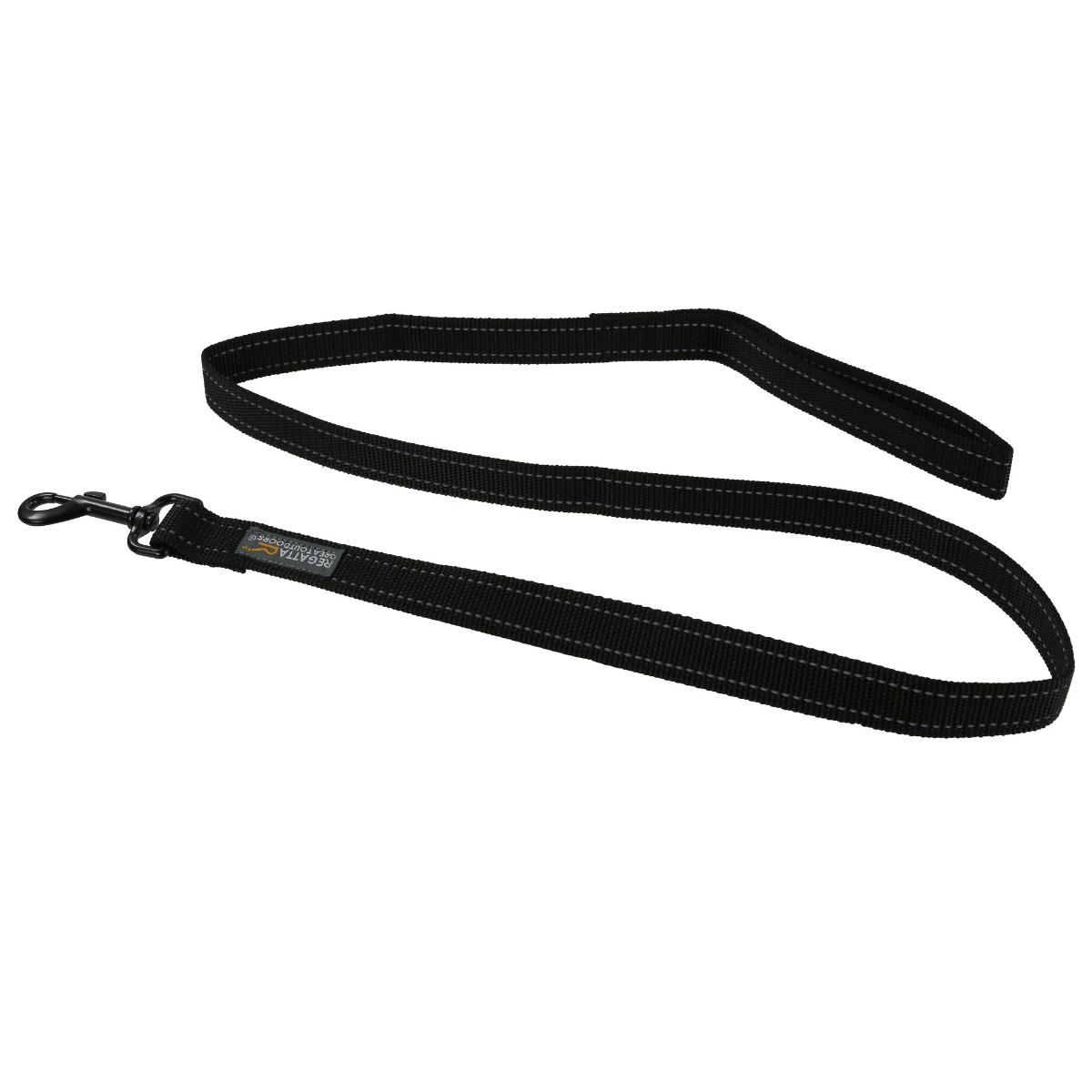 Regatta Reflective Dog Lead - Black - 120cm