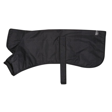 Regatta Arlo Insulated Waterproof Dog Coat-lead Grey / Prince Of Wales Check-l