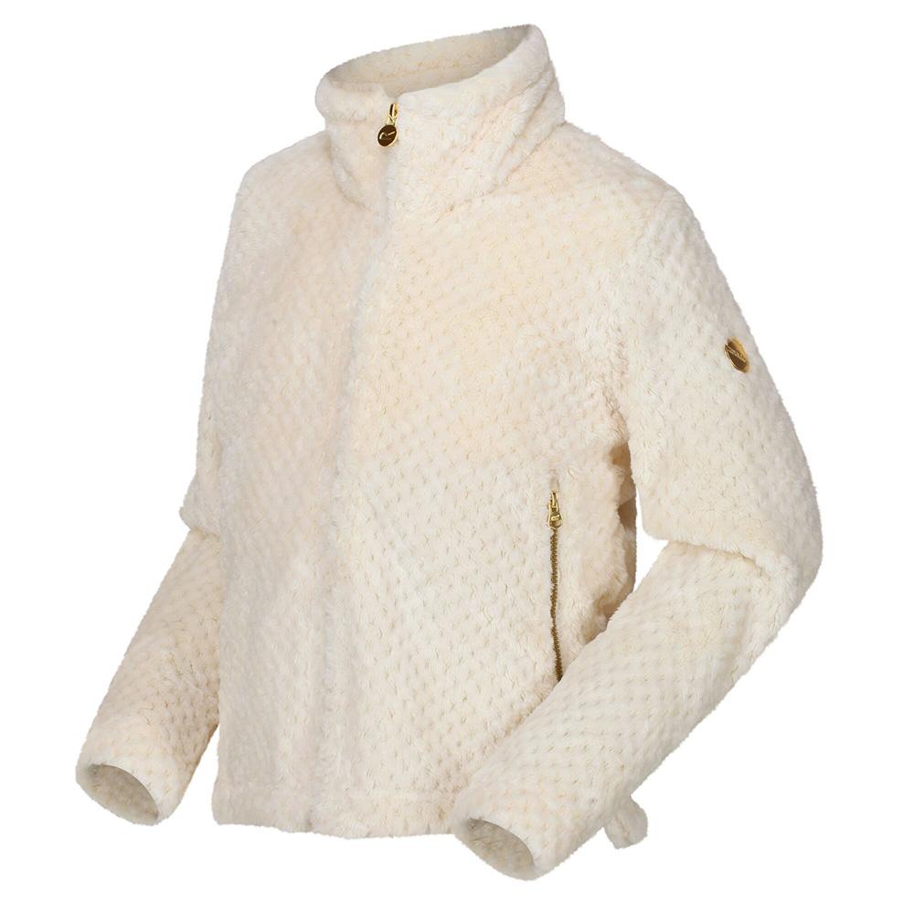 Regatta Kids Kazumi Full Zip Fleece-light Vanilla-5-6 Years